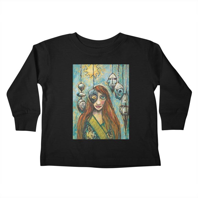 Untitled Seer Kids Toddler Longsleeve T-Shirt by Clive Barker
