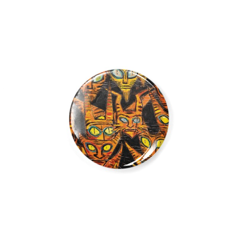 Tarrie Cat Army Accessories Button by Clive Barker