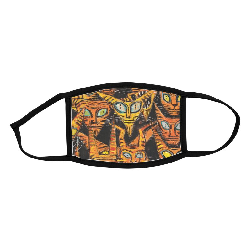 Tarrie Cat Army Accessories Face Mask by Clive Barker
