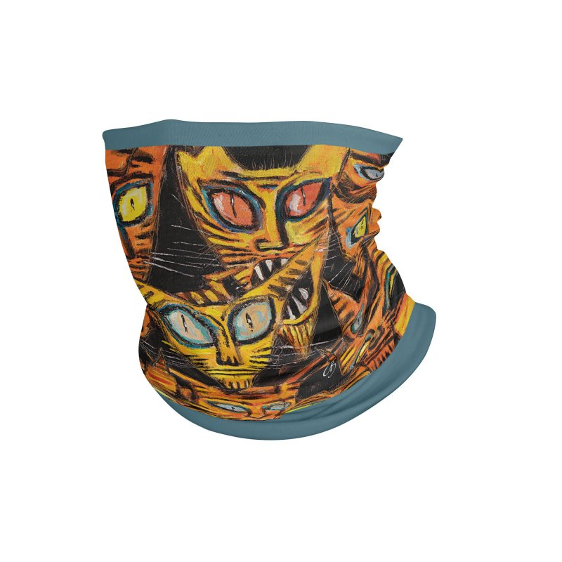 Tarrie Cat Army Accessories Neck Gaiter by Clive Barker
