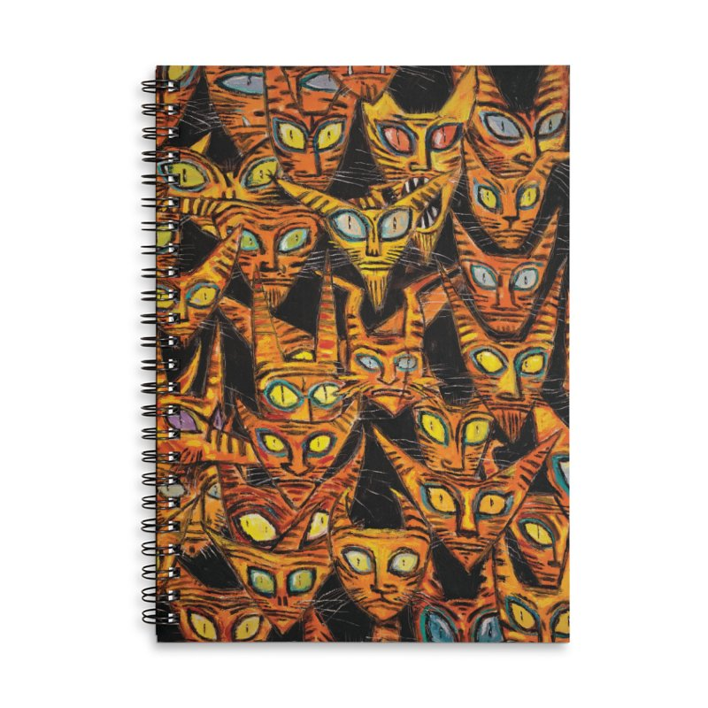 Tarrie Cat Army Accessories Notebook by Clive Barker