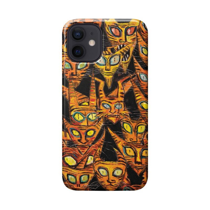 Tarrie Cat Army Accessories Phone Case by Clive Barker