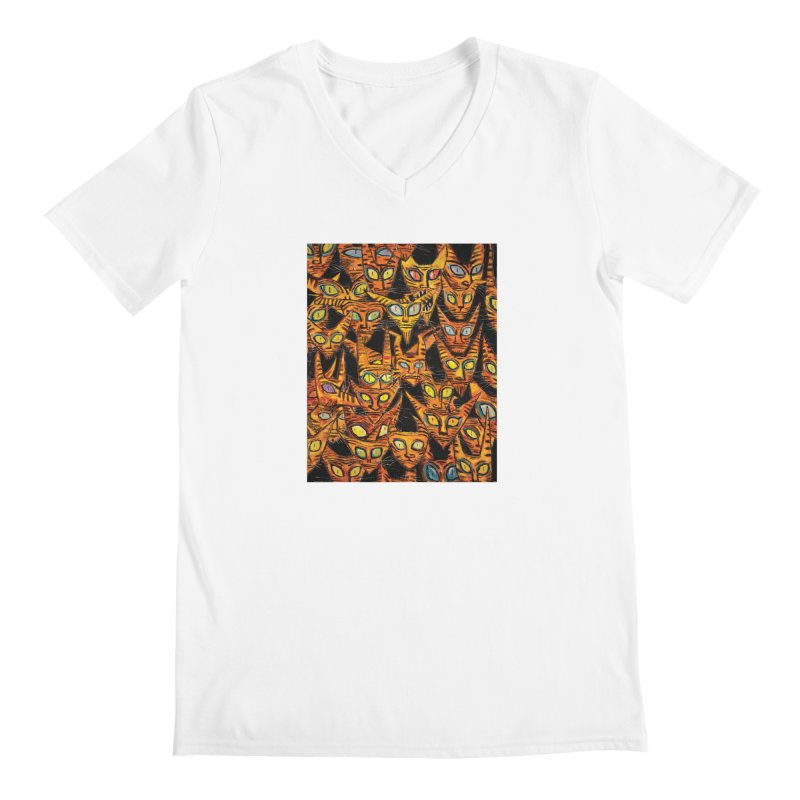 Tarrie Cat Army Men's V-Neck by Clive Barker