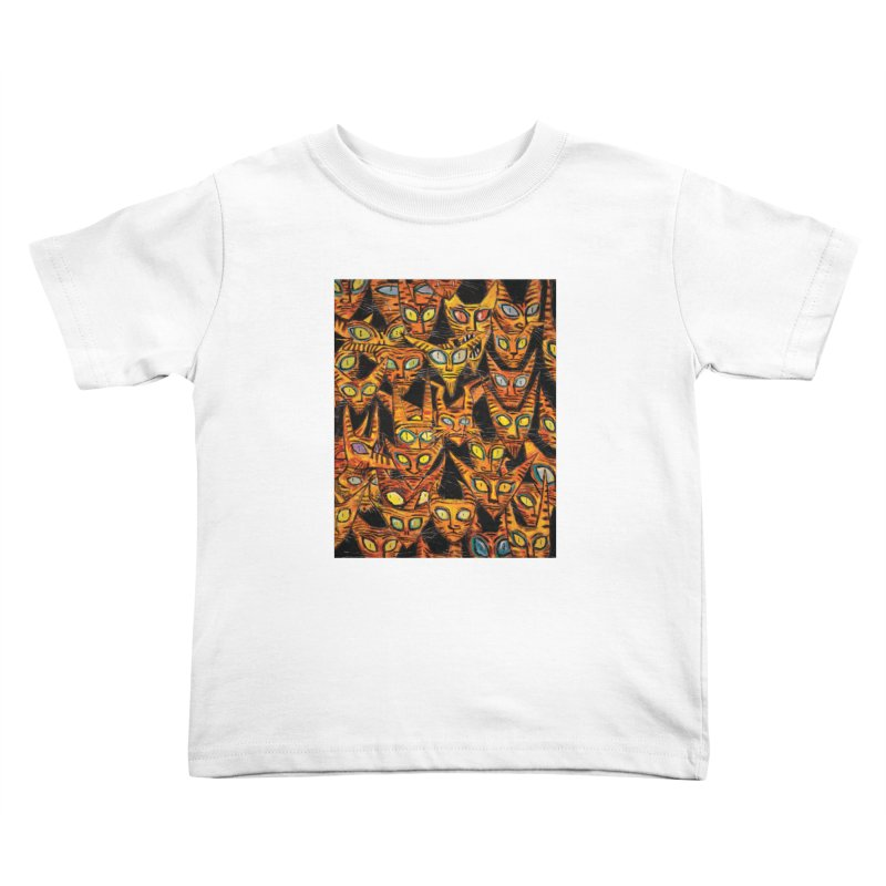 Tarrie Cat Army Kids Toddler T-Shirt by Clive Barker