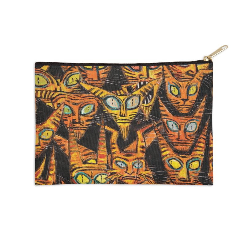 Tarrie Cat Army Accessories Zip Pouch by Clive Barker