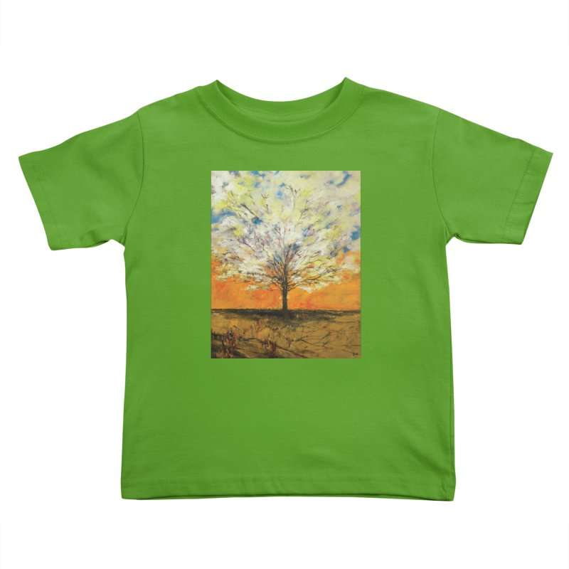 A Tree Full of Sky Kids Toddler T-Shirt by Clive Barker