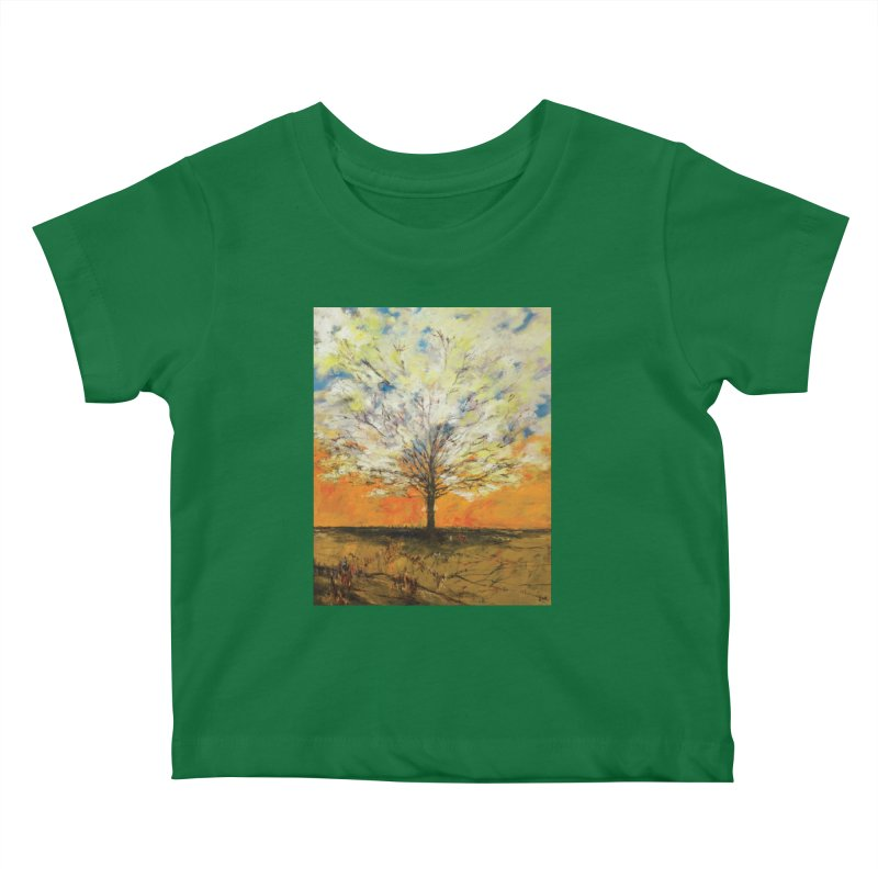 A Tree Full of Sky Kids Baby T-Shirt by Clive Barker