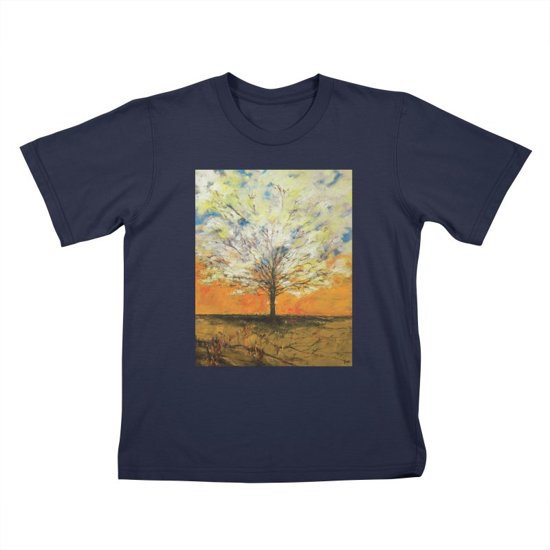 A Tree Full of Sky Kids T-Shirt by Clive Barker