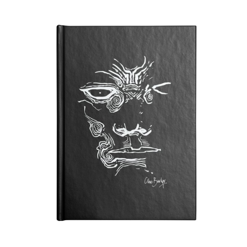 Imaginer 2 (white) Accessories Notebook by Clive Barker