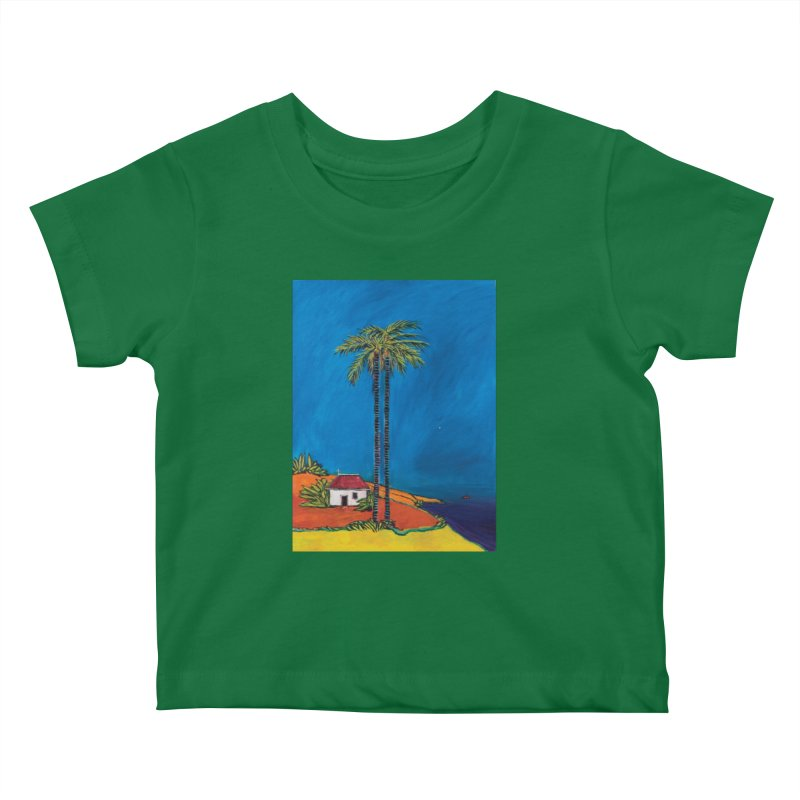 The Morning of Christ's Nativity Kids Baby T-Shirt by Clive Barker