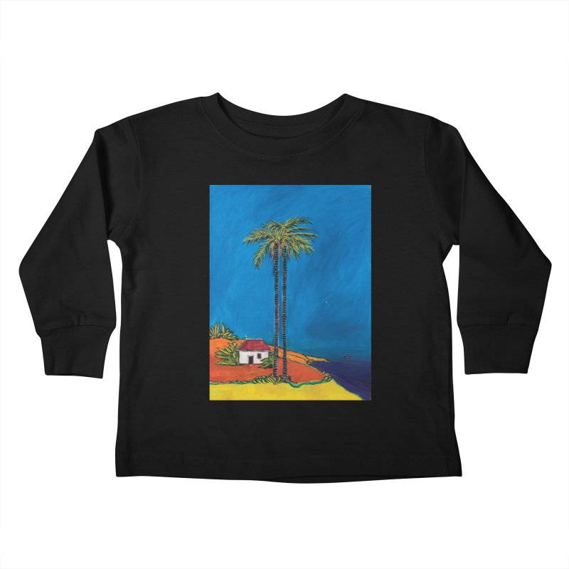 The Morning of Christ's Nativity Kids Toddler Longsleeve T-Shirt by Clive Barker