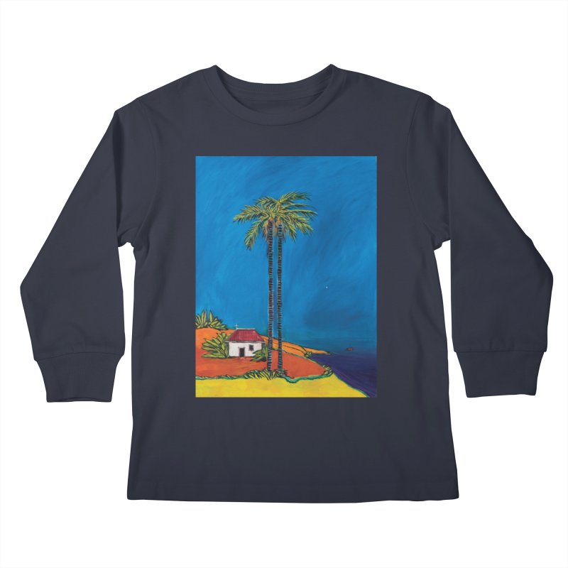 The Morning of Christ's Nativity Kids Longsleeve T-Shirt by Clive Barker