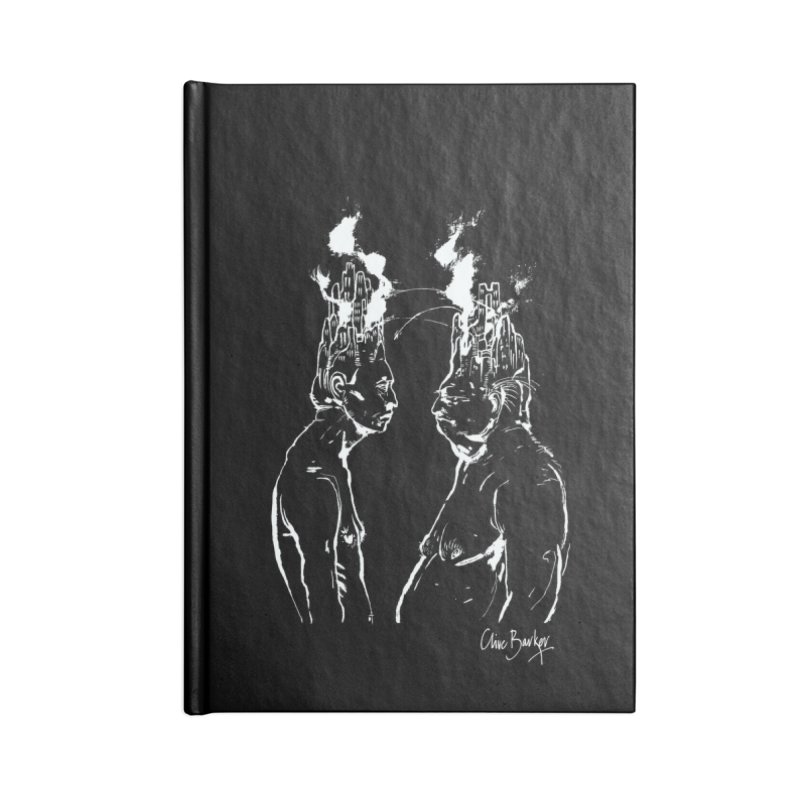 Imaginer 4 (white) Accessories Notebook by Clive Barker