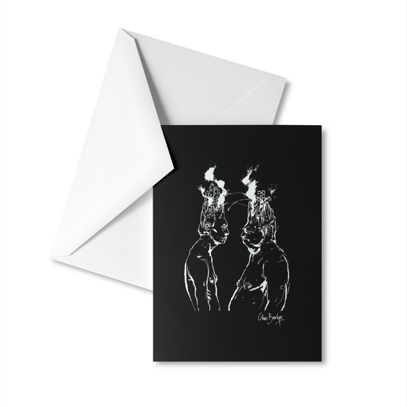 Imaginer 4 (white) Accessories Greeting Card by Clive Barker