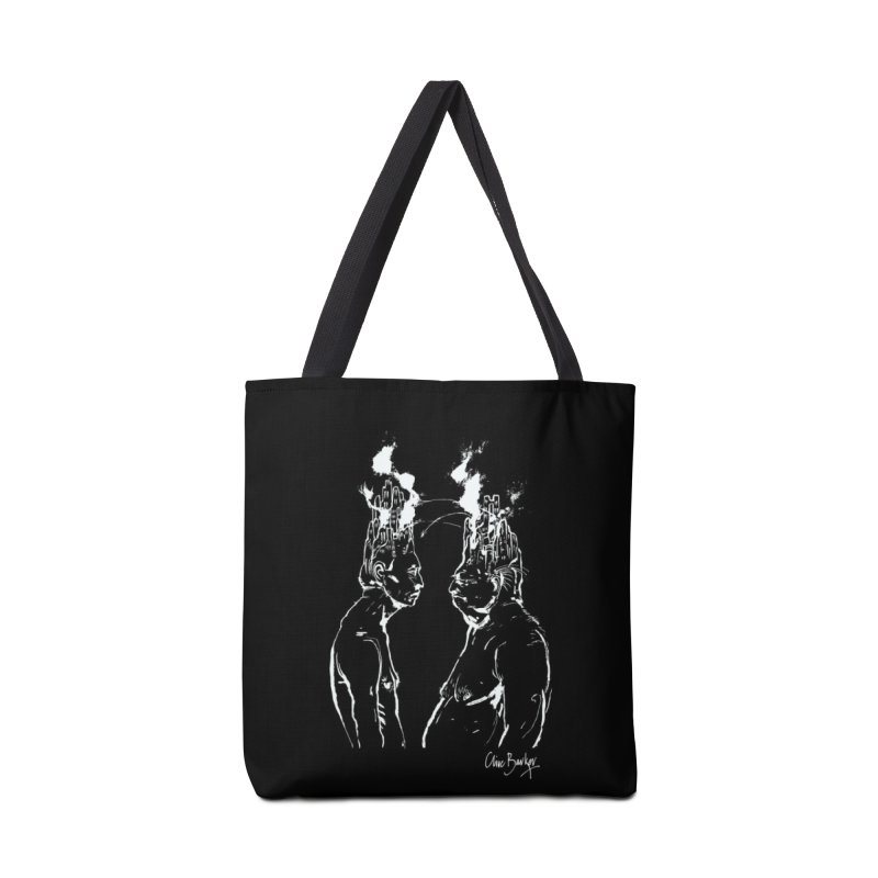 Imaginer 4 (white) Accessories Bag by Clive Barker