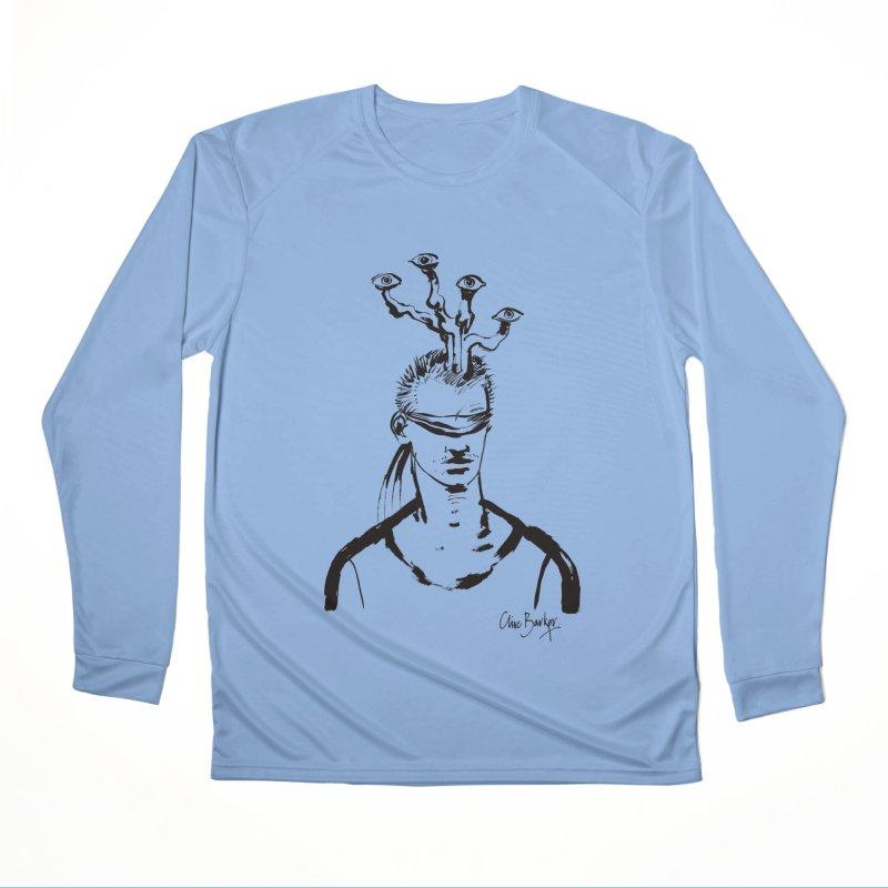 Imaginer 3 (black) Women's Longsleeve T-Shirt by Clive Barker
