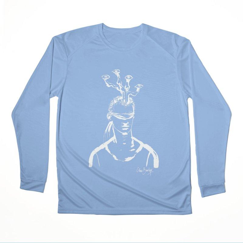 Imaginer 3 (white) Women's Longsleeve T-Shirt by Clive Barker