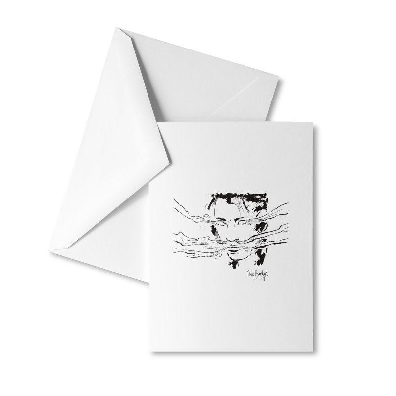 Imaginer 7 (black) Accessories Greeting Card by Clive Barker