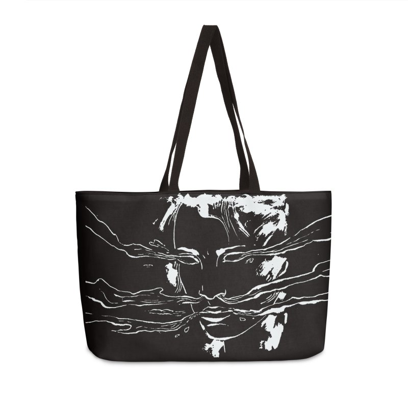 Imaginer 7 (white) Accessories Bag by Clive Barker