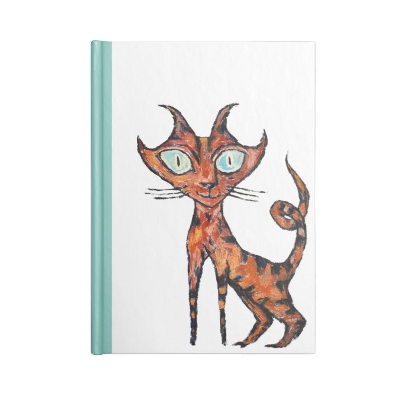 Tarrie Cat Accessories Notebook by Clive Barker