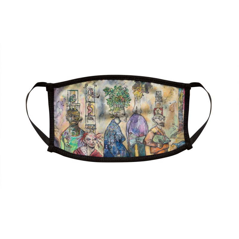 Marapozsa Street Accessories Face Mask by Clive Barker