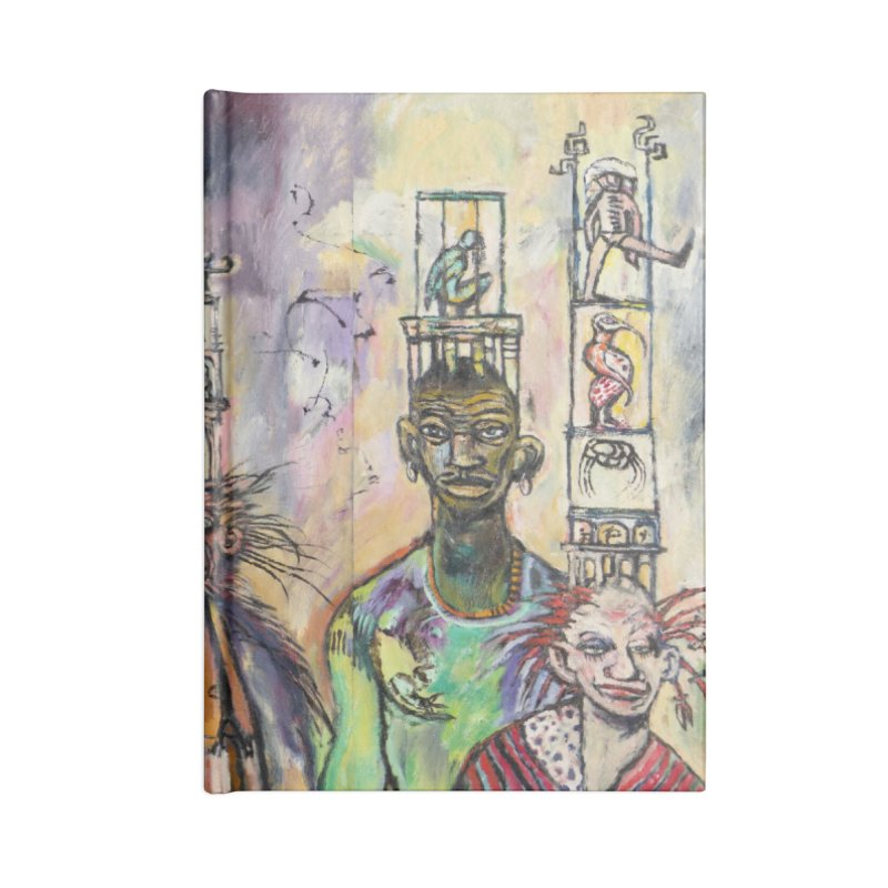 Marapozsa Street Accessories Notebook by Clive Barker