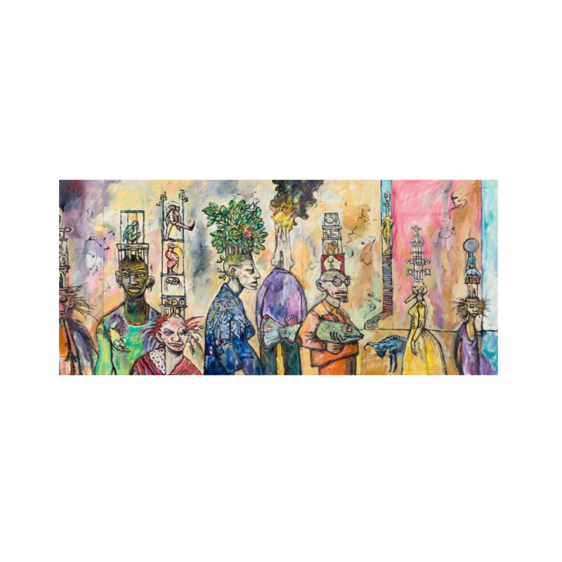 Marapozsa Street Accessories Zip Pouch by Clive Barker