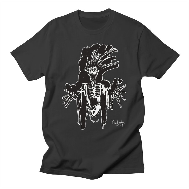 Boo! (outlined) Men's T-Shirt by Clive Barker
