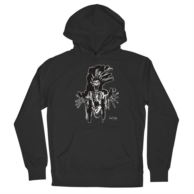 Boo! (outlined) Men's Pullover Hoody by Clive Barker