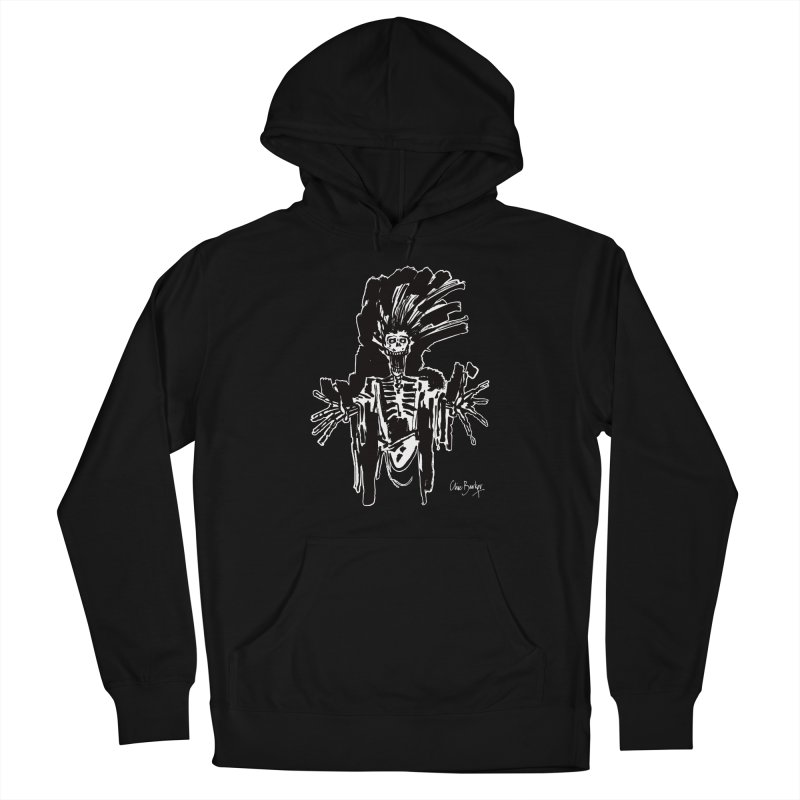 Boo! (outlined) Women's Pullover Hoody by Clive Barker