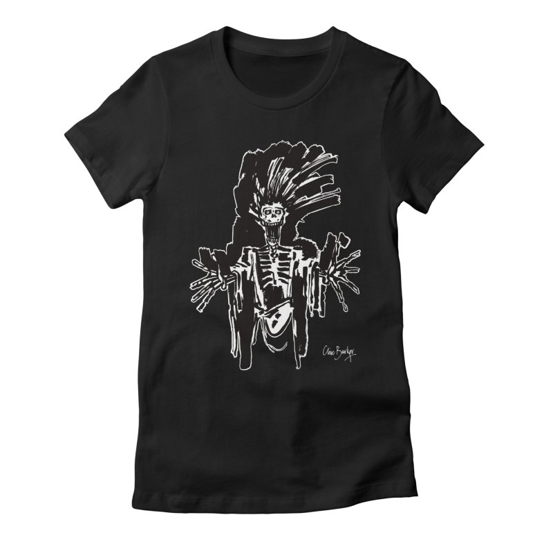 Boo! (outlined) Women's T-Shirt by Clive Barker