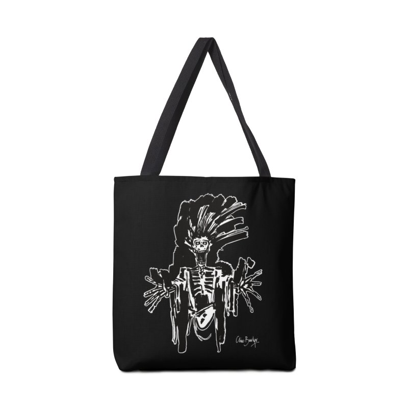 Boo! (outlined) Accessories Bag by Clive Barker