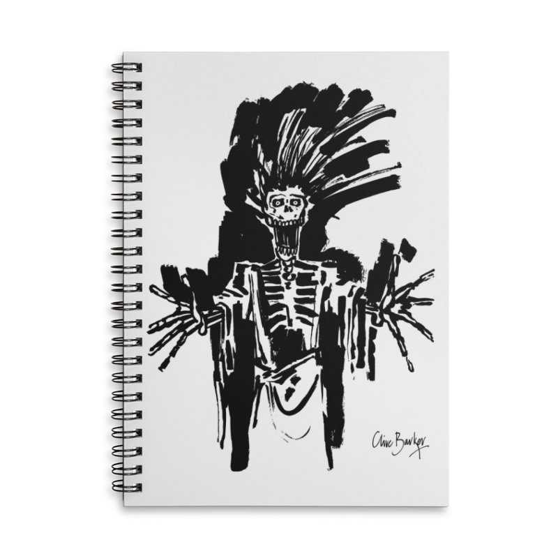 Boo! Accessories Notebook by Clive Barker
