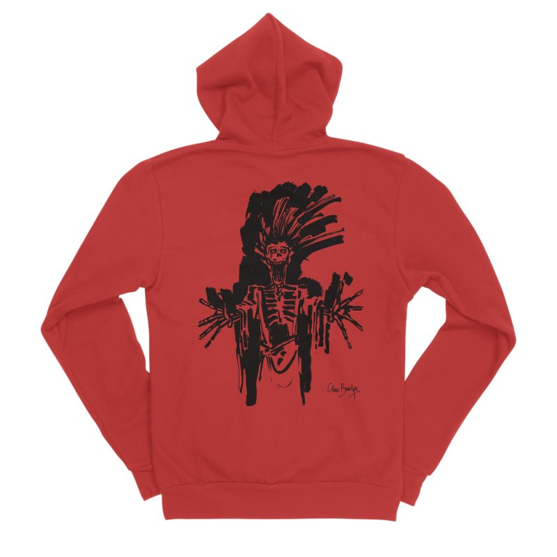Boo! Men's Zip-Up Hoody by Clive Barker