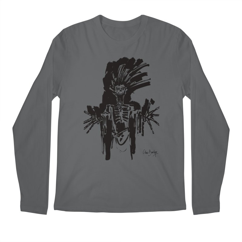 Boo! Men's Longsleeve T-Shirt by Clive Barker