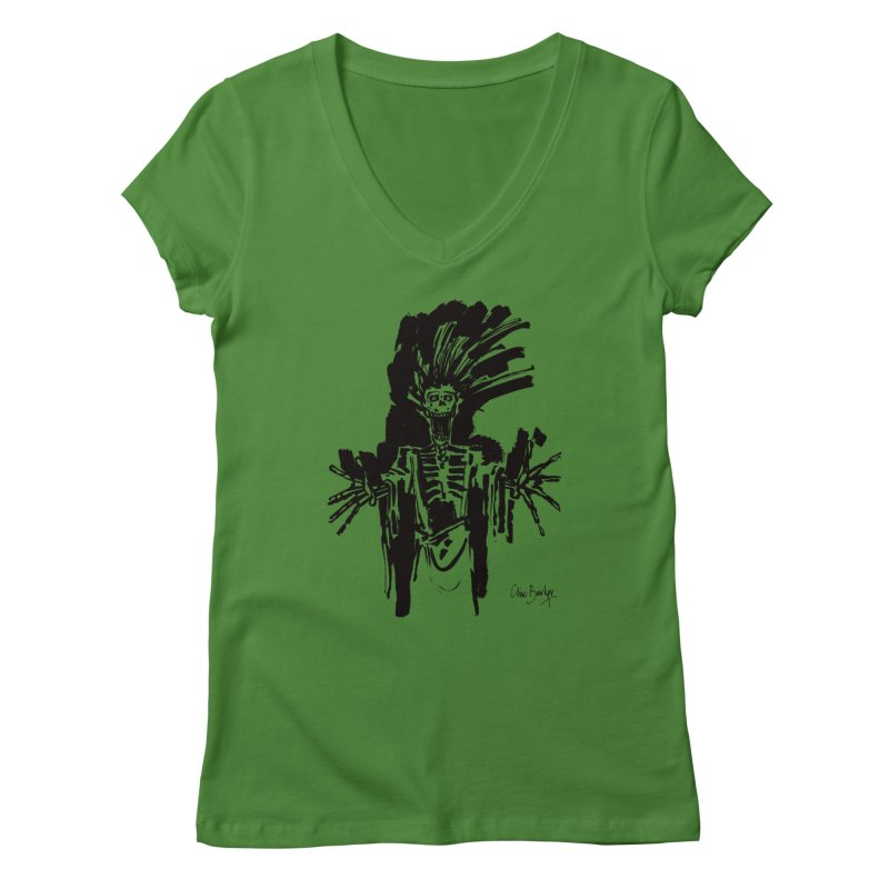 Boo! Women's V-Neck by Clive Barker