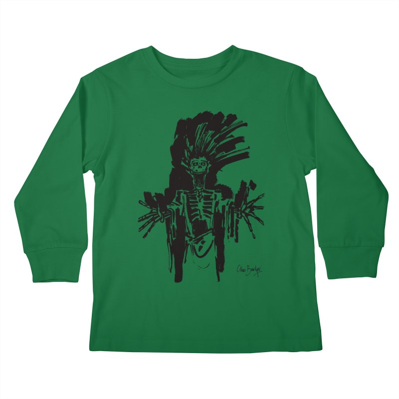 Boo! Kids Longsleeve T-Shirt by Clive Barker