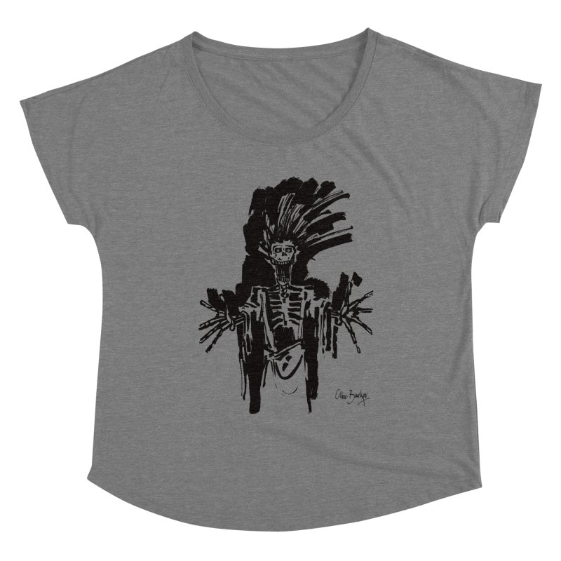 Boo! Women's Scoop Neck by Clive Barker