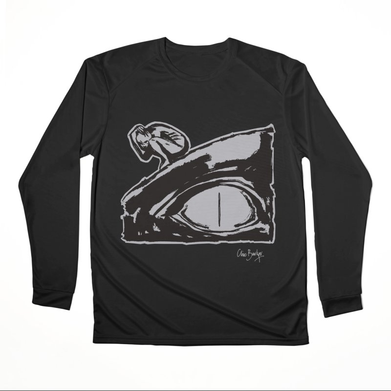 C is for Chaos (outlined) Men's Longsleeve T-Shirt by Clive Barker
