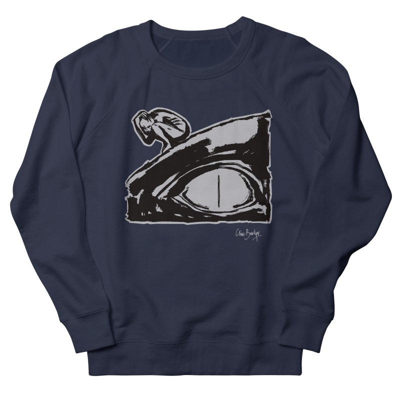 C is for Chaos (outlined) Men's Sweatshirt by Clive Barker
