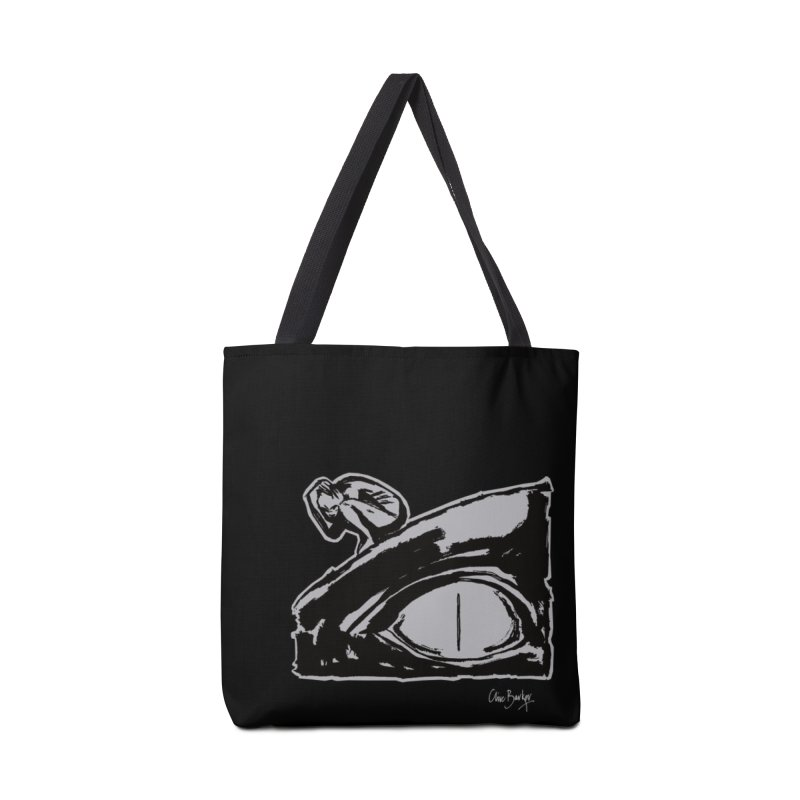 C is for Chaos (outlined) Accessories Bag by Clive Barker