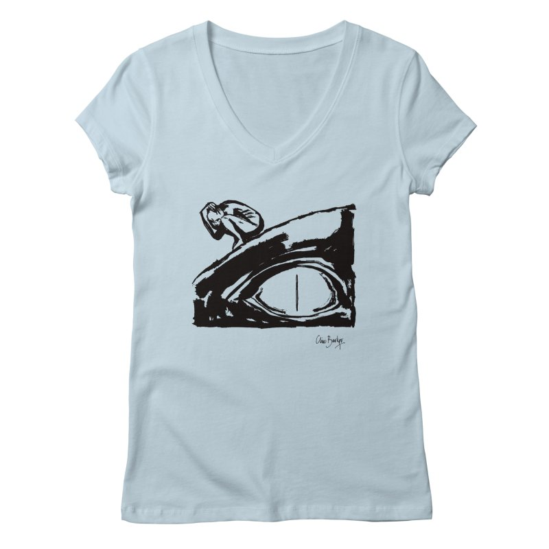 C is for Chaos Women's V-Neck by Clive Barker