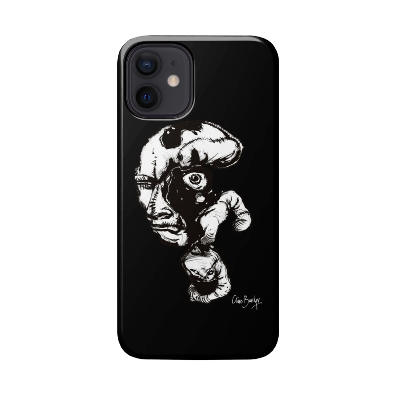 Head with Floating Eye Accessories Phone Case by Clive Barker