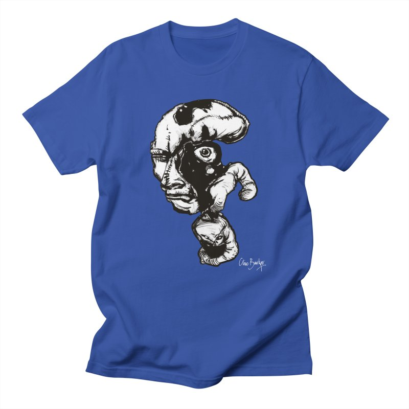 Head with Floating Eye Men's T-Shirt by Clive Barker