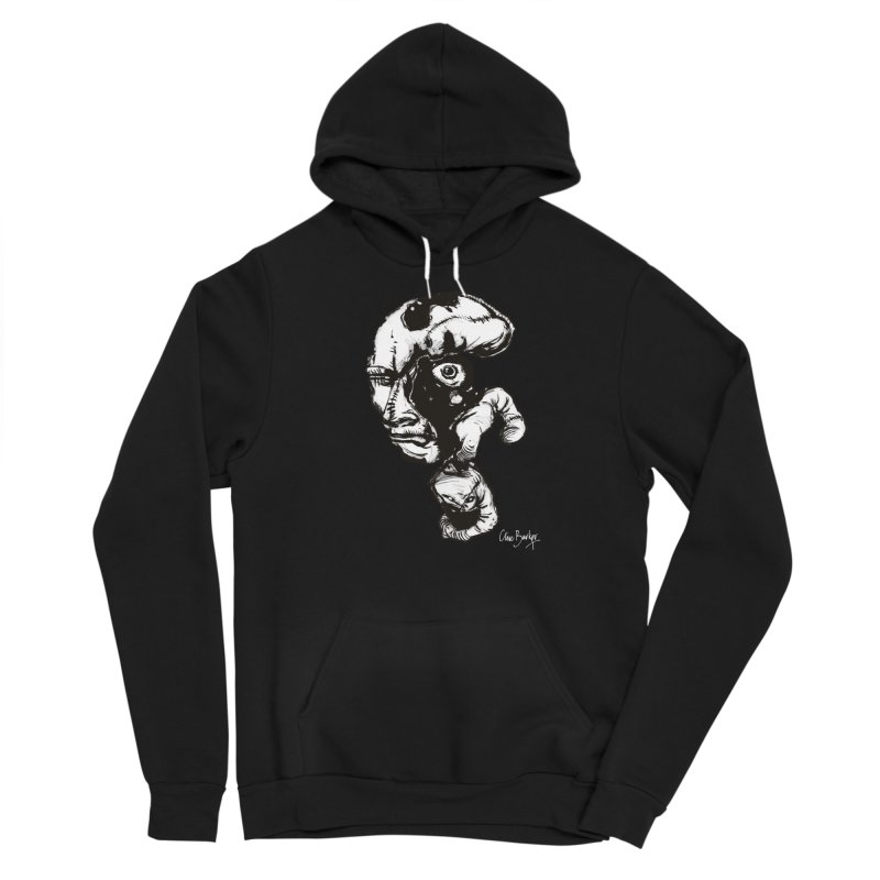 Head with Floating Eye Men's Pullover Hoody by Clive Barker