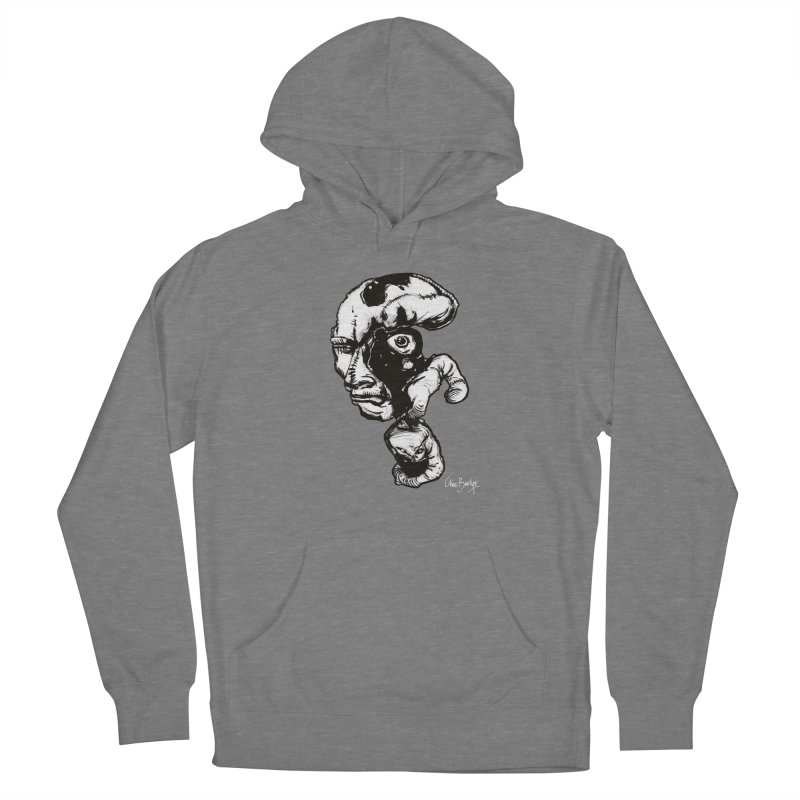 Head with Floating Eye Women's Pullover Hoody by Clive Barker