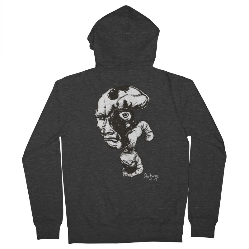 Head with Floating Eye Women's Zip-Up Hoody by Clive Barker