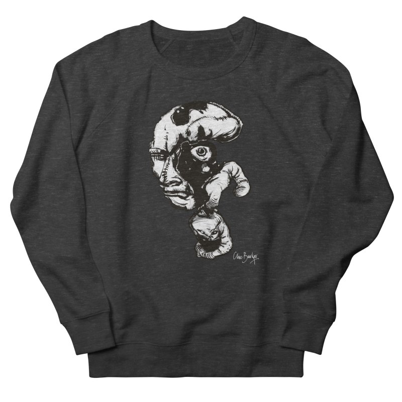 Head with Floating Eye Women's Sweatshirt by Clive Barker