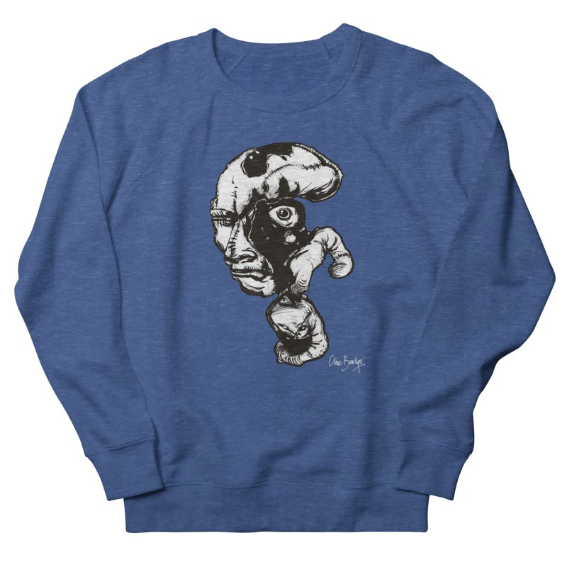 Head with Floating Eye Men's Sweatshirt by Clive Barker