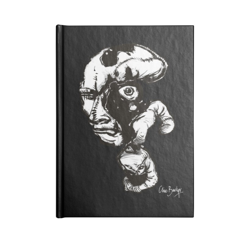 Head with Floating Eye Accessories Notebook by Clive Barker